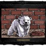 L'orsetto Knut cm 80×100