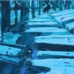 Giovanni Frangi Garden olio su tela cm 40x50 2011